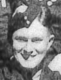 black and white photo of Harold Burman