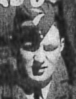 black and white photo of Herbert Hacksley