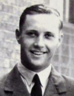 black and white photo of E.O. Hawkes